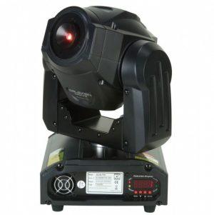 Laser movinghead met 500 rode en groene sterren