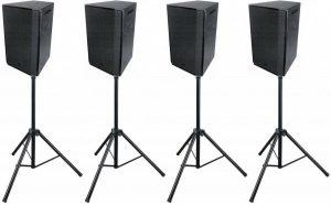 Speakerset 4x 8″ 120W/8 ohm 3 weg