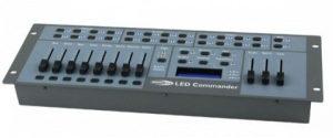 LED Commander incl. 2x DMX kabel
