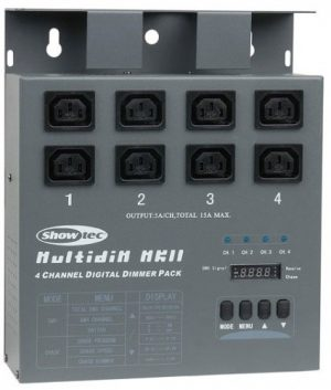 Multidim MKII 4 Channel DMX Dimming Pack with IEC