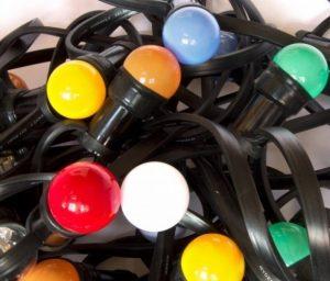 LED prikkabel 20m gekleurd 40x LED