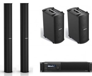 Bose MA-12 line array set met MB4