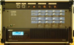 Bose PM versterker & 4 zone mixer set
