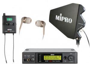 Draadloze digitale In Ear monitor IEM
