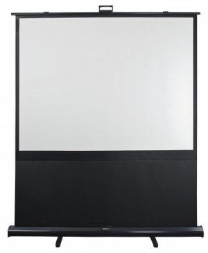 Vloer projectie scherm 16:9 0,99m H x 1,77m B opzicht