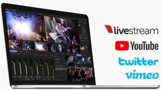 Laptop inclusief Livestream Studio
