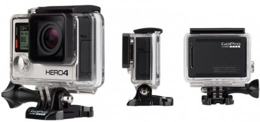 GoPro 4K camera