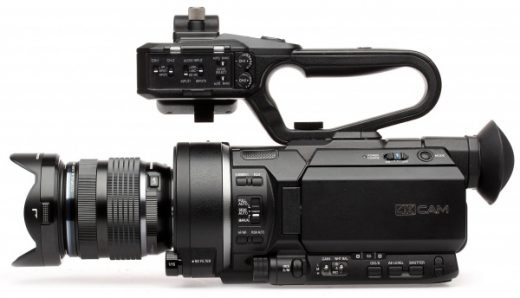 4K S 35mm video camera met HDMI & 3G SDI