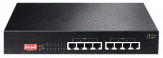 8v GB POE netwerk switch
