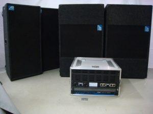 Geluid installatie AD 3000W 125dB
