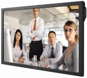 "52"" LCD business monitor"