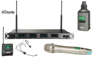 Digitale beveiligde draadloze set + 1 micr