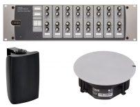 Cloud zone/matrix mixers/versterkers & speakers