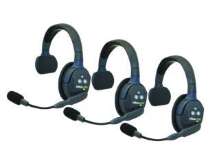 Eartec UltraLite HD 3 voudig intercom systeem